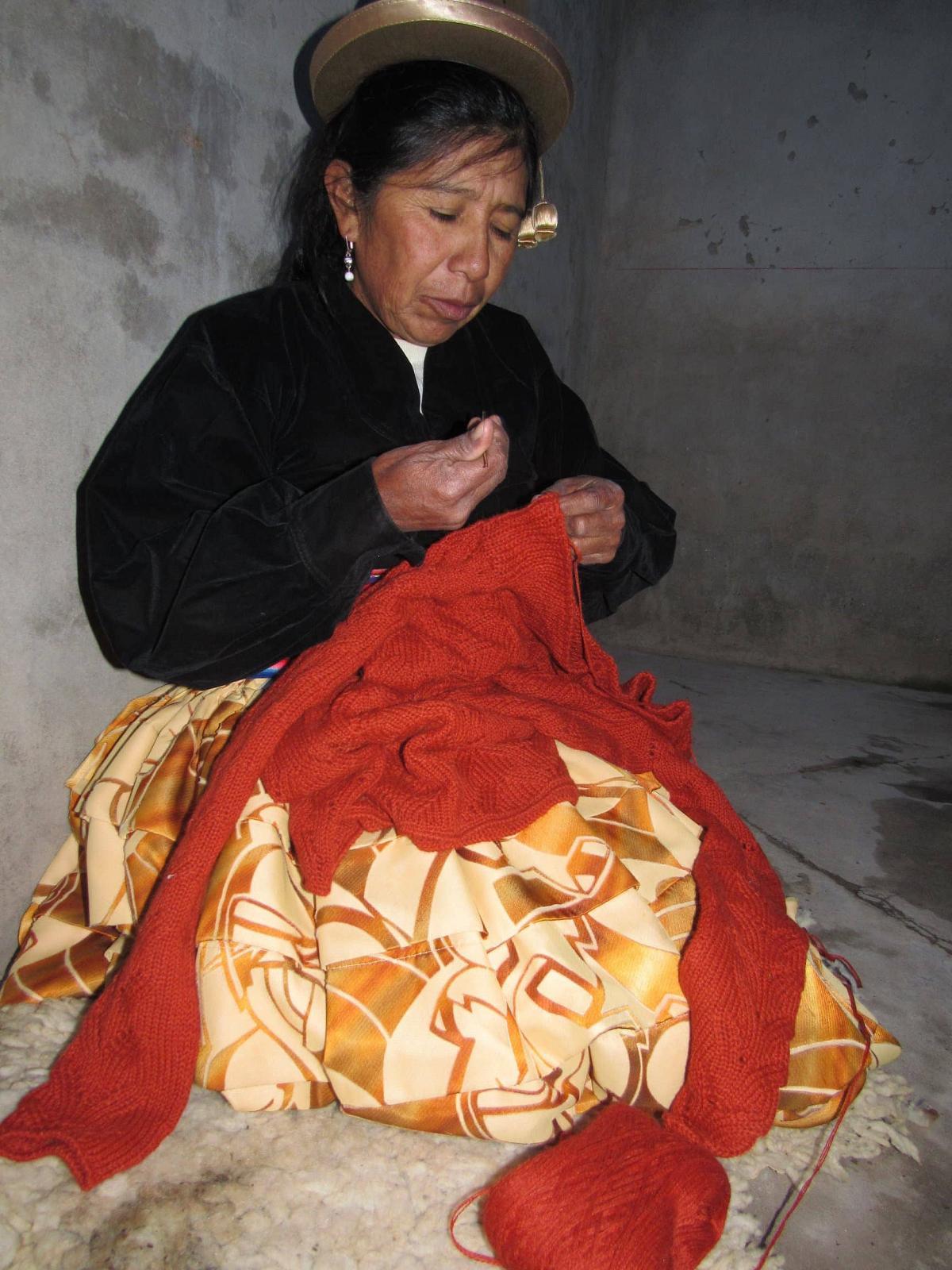 Graciela Huam artisan