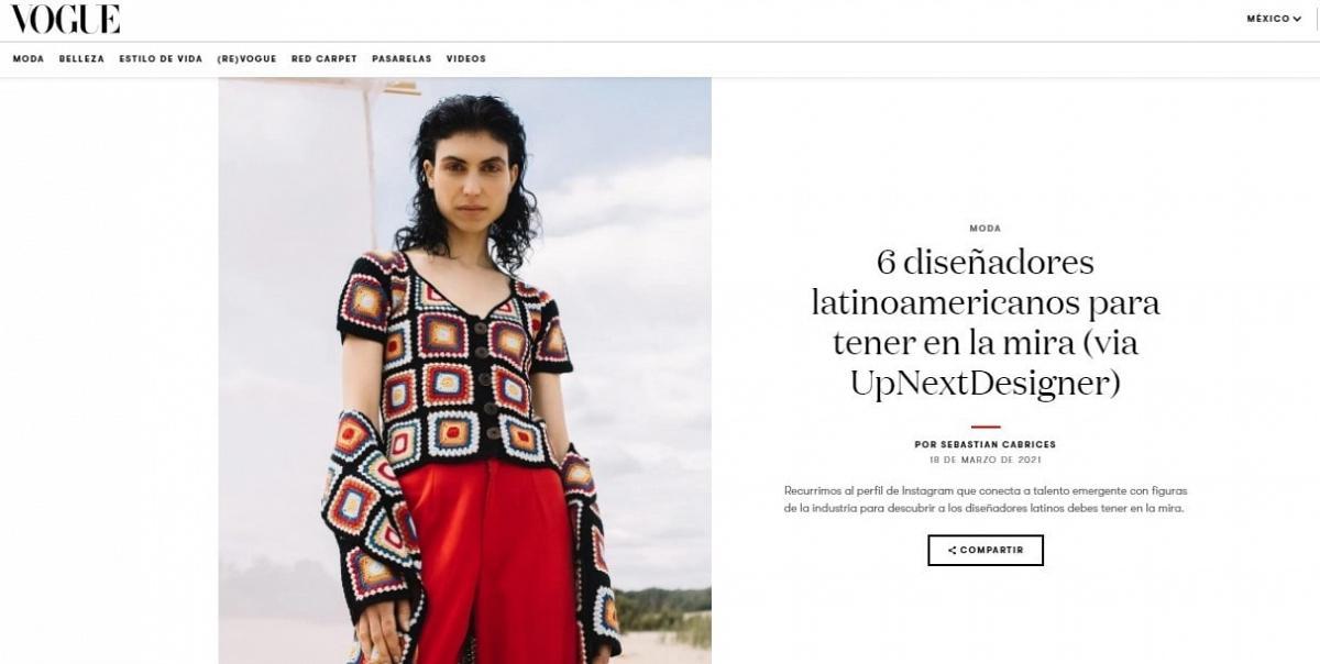 Vogue Mexico Disenadores Latinos en la mira 2021