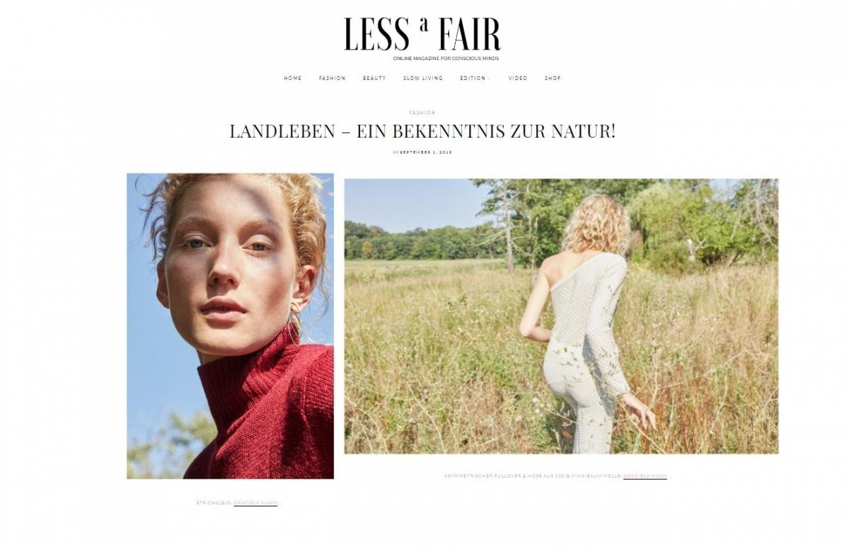Lessafair Magazine Berlin September 2018