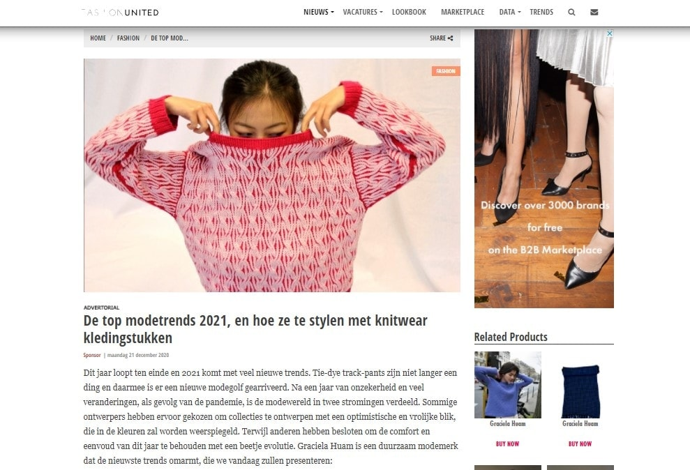 Fashion United NL_DE TOP MODETRENDS 2021