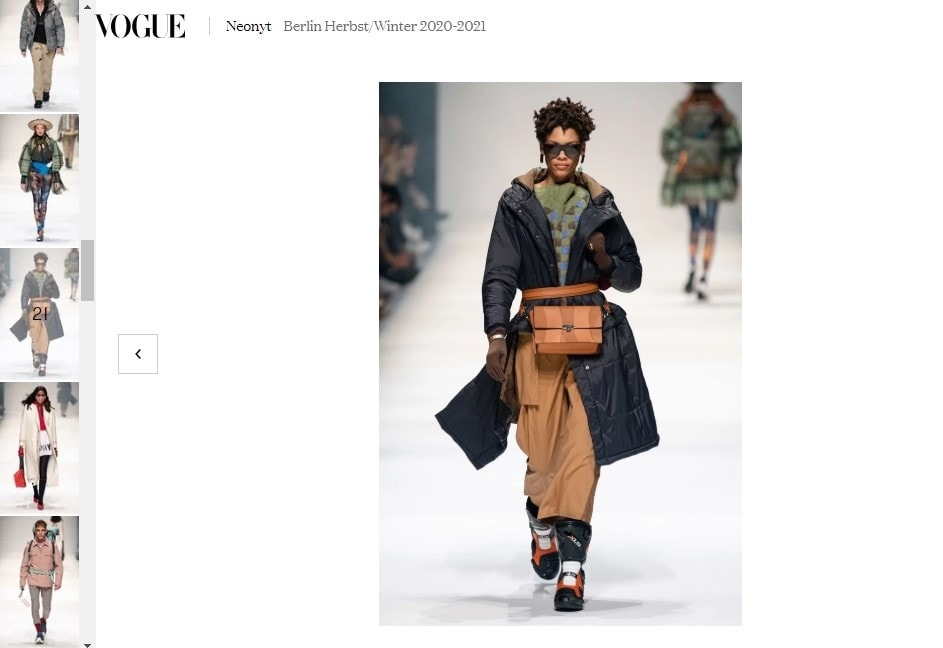 Vogue Germany FW 202021 Neonyt Fashion Show2
