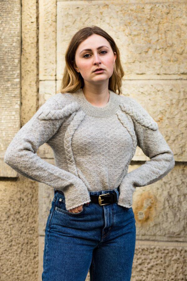 Carmen Wo with Hanneke sweater