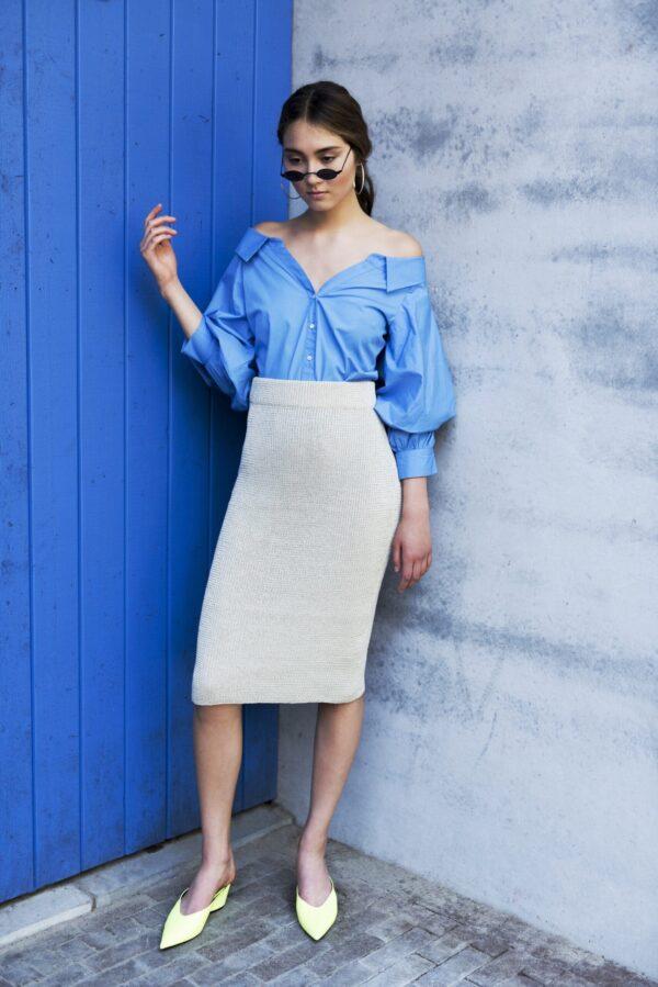 Isa Skirt White 1