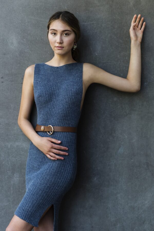 spring summer graciela huam knitted dress