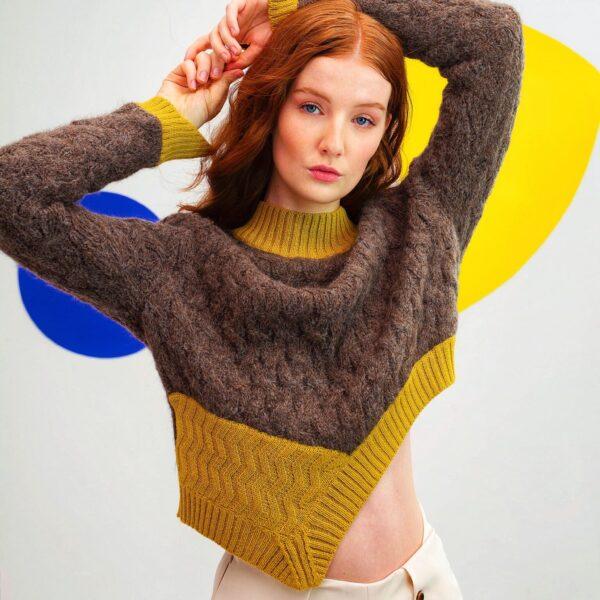Graciela Huam Opposites Sweater Alpaca 4