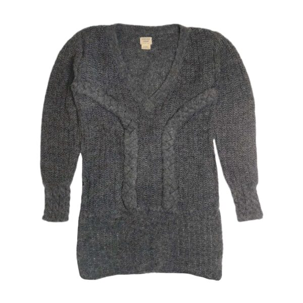 beatrix alpaca jumper dark gray