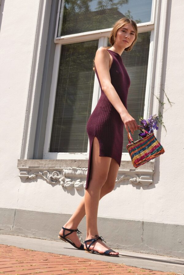 ica dress purple