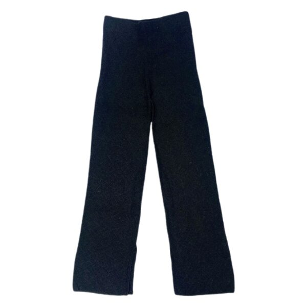 jasmin alpaca pants black