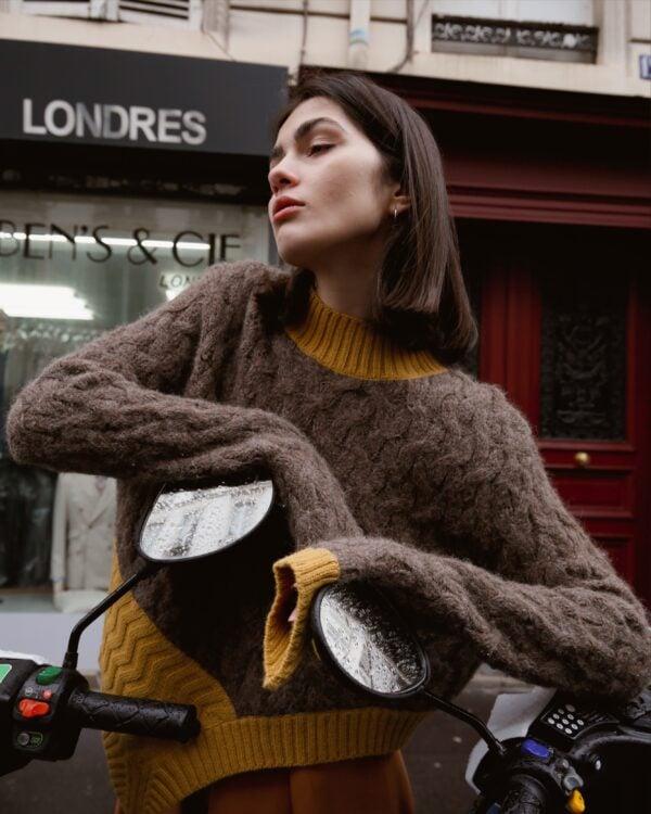 Graciela Huam Opposites Sweater Alpaca 3