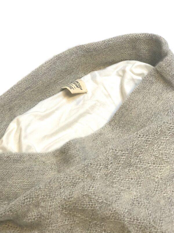 jasmin alpaca pants grey white detail