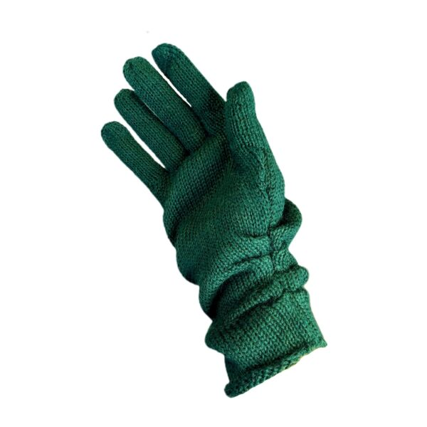 palabra alpaca gloves green