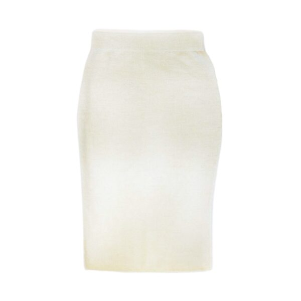 anouk alpaca skirt white