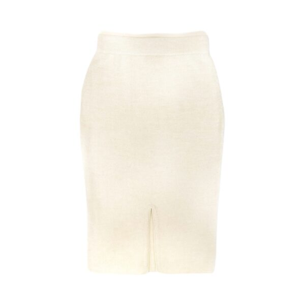 anouk alpaca skirt white back