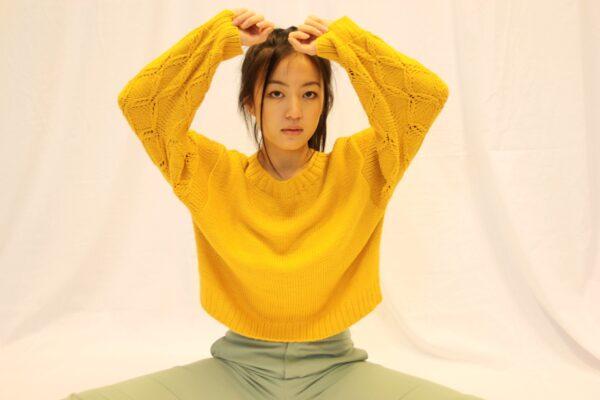 frida sweater mustard 2