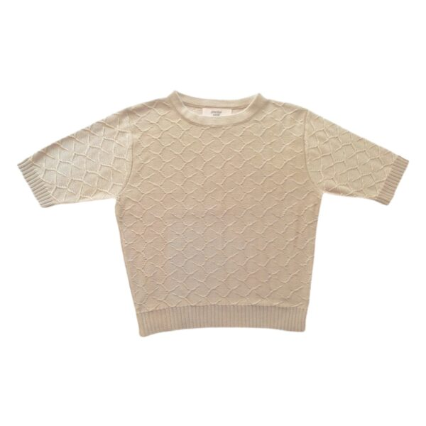 Emilia crop top beige