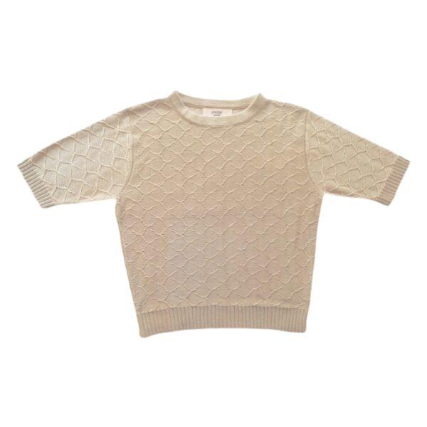 Emilia crop top beige