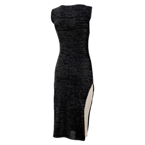 indy black dress back