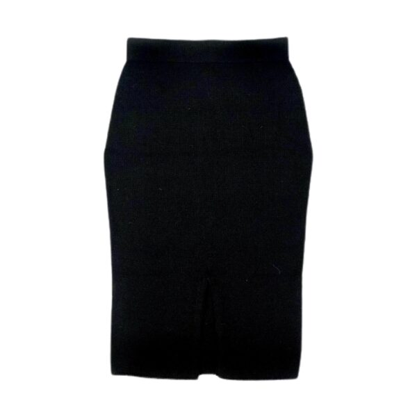 anouk alpaca skirt black back