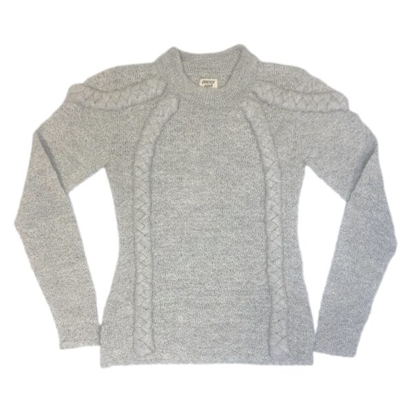 hanneke alpaca jumper light gray