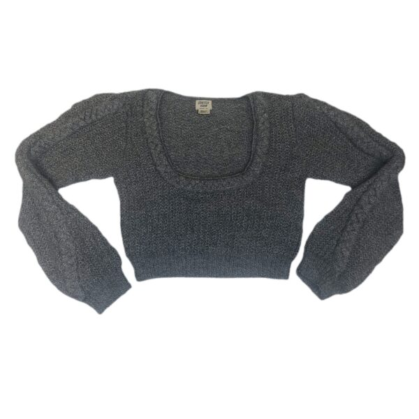 mapi alpaca crop gray