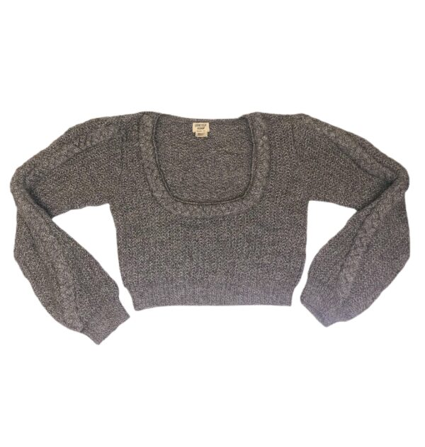 mapi alpaca crop light gray