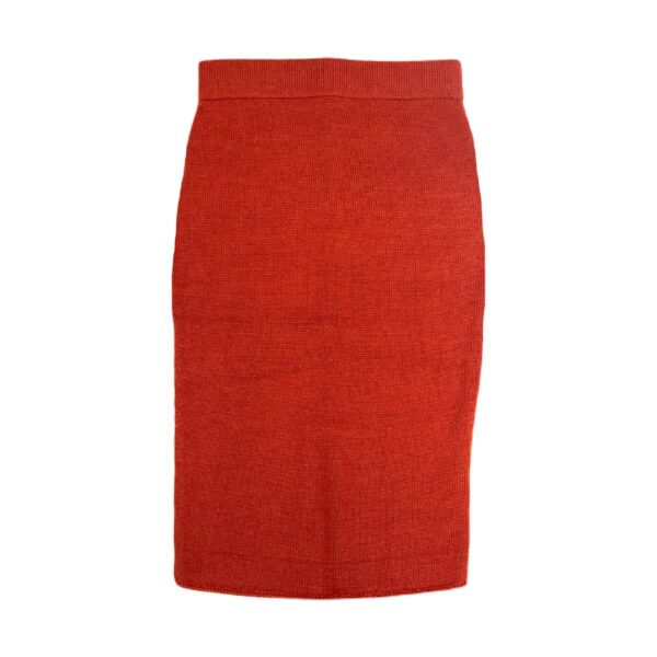 anouk alpaca skirt red front