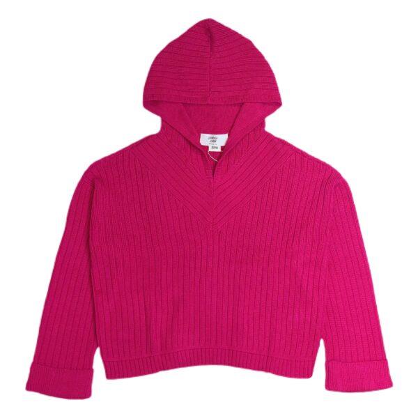 lucha hoodie pink