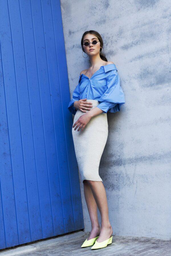 Isa Skirt White 4