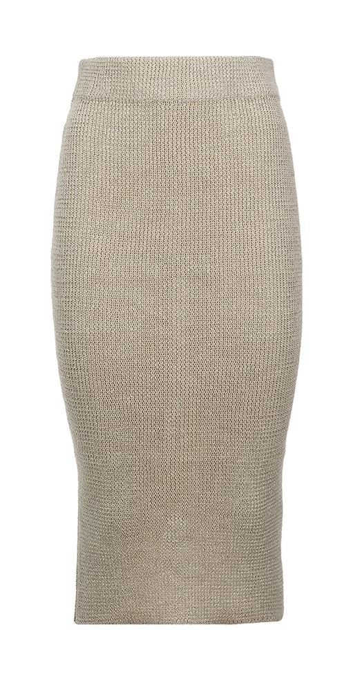 Isa Skirt White Front