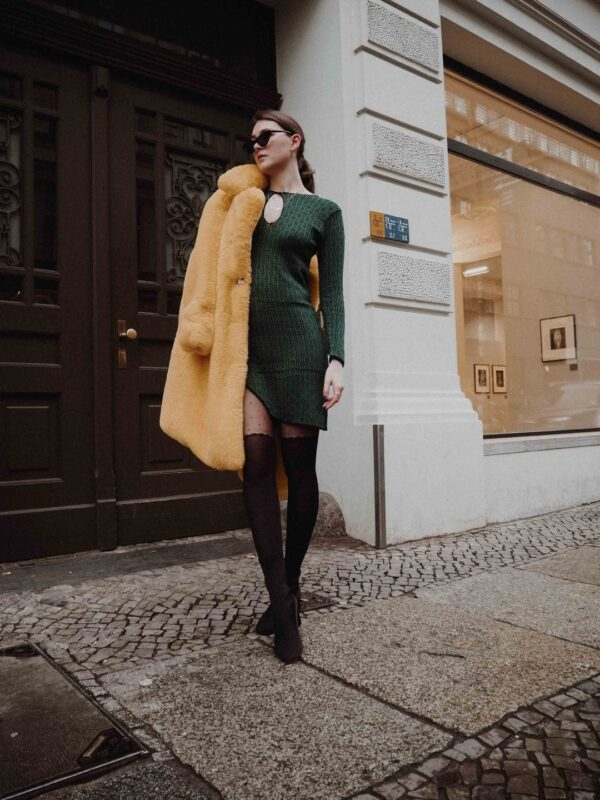 Delika Dress Green 5