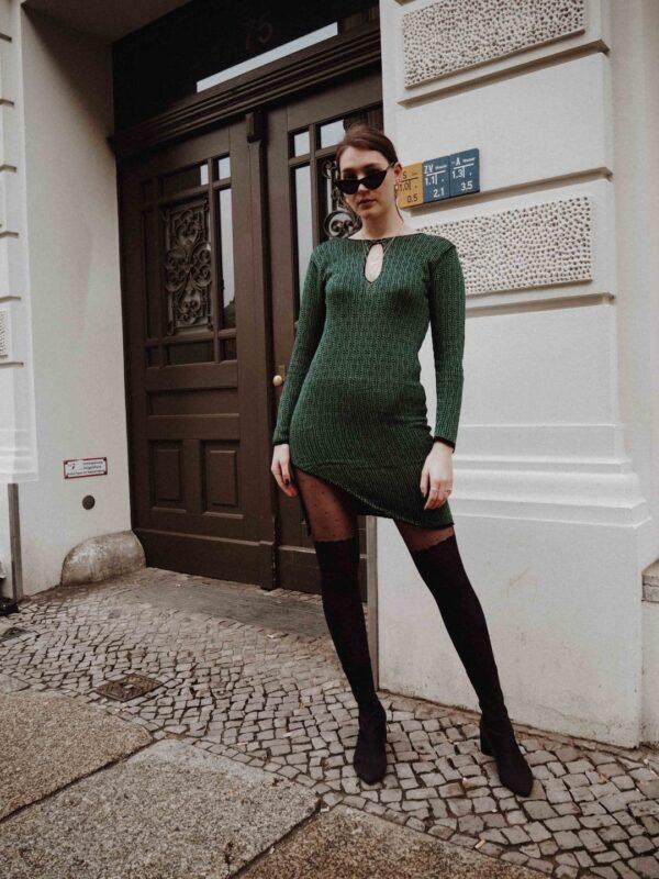 Delika Dress Green