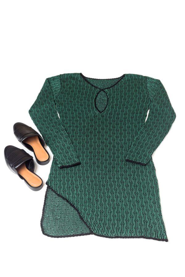 Delika Dress Green 4