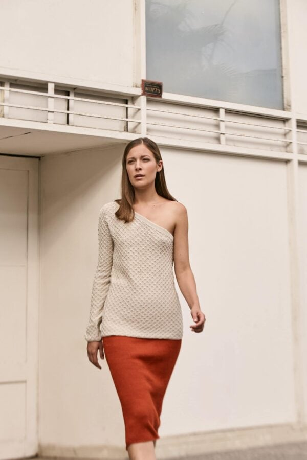 Anouk Skirt Brick 2