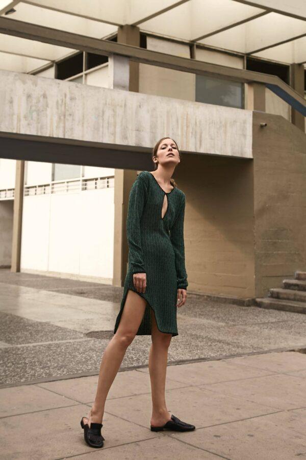 Delika Dress Green 2