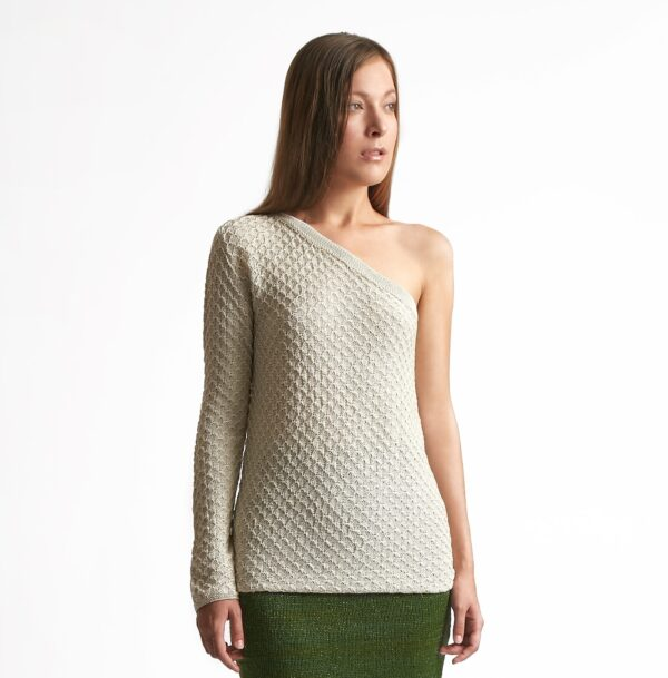 Kelly Knitted Top White