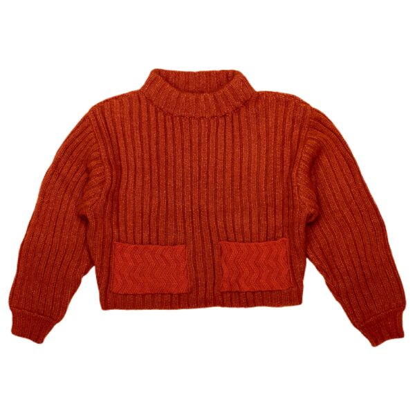 motion sweater brick front